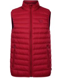 Armani Jeans - Quilted Down Gilet - Lyst