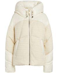 Nicole Benisti Matignon Puffer Jacket - White