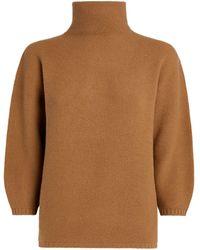 Max Mara Wool-blend Etrusco Jumper - Natural