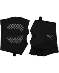 PUMA Grip Training Gloves - Black