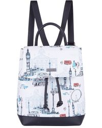 Harrods London Backpack - Blue