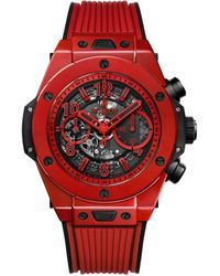 Hublot Ceramic Big Bag Unico Red Magic Watch 45mm