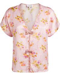 Morgan Lane + Love Shack Fancy Mini Esti Pyjama Set - Pink