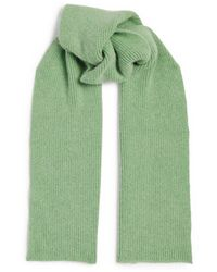 Le Bonnet Classic Lambswool Scarf - Green
