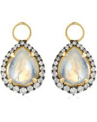 Annoushka - Moonstone Earring Drops - Lyst