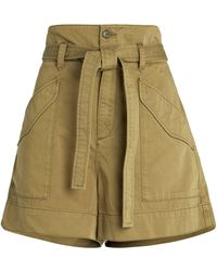 Rag & Bone Field Cargo Shorts - Green