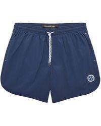Ermenegildo Zegna Drawstring Swim Shorts - Blue