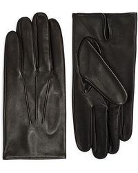 Dents Leather Gloves - Black