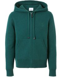 Burberry - Cashmere-blend Hoodie - Lyst