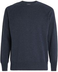 Johnstons of Elgin Cashmere Sweatshirt - Metallic