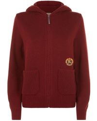 Burberry - Cashmere Archive Logo Hoodie - Lyst