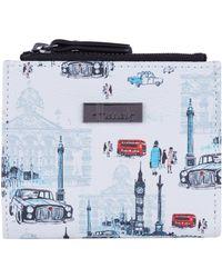 Harrods London Wallet - Blue