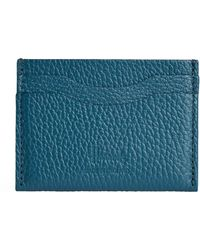 Harrods Leather Card Holder - Green