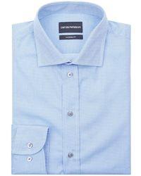 Emporio Armani - Micro Dot Formal Shirt - Lyst