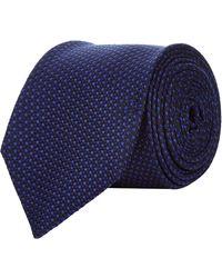 Corneliani - Spotted Jacquard Tie - Lyst