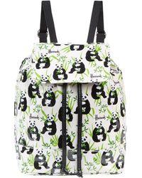 Harrods - Panda Logo Drawstring Backpack - Lyst