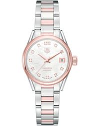 Tag Heuer Carrera Mother-of-pearl Self-winding 32mm Watch - White