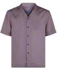 Frescobol Carioca Printed Shirt - Purple