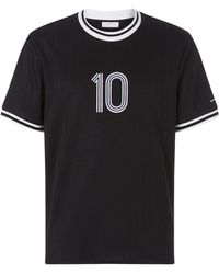 Sandro - Short Sleeve Athletic T-shirt - Lyst