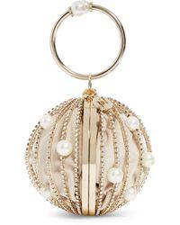 Rosantica Brass Sasha Top-handle Sphere Bag - Metallic