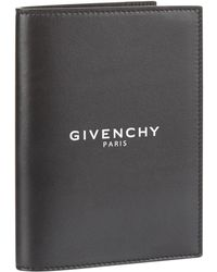 Givenchy - Leather Logo Passport Holder - Lyst