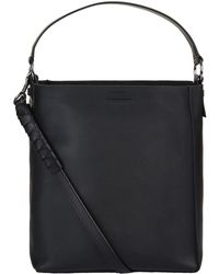 AllSaints - Small Voltaire North South Tote Bag - Lyst