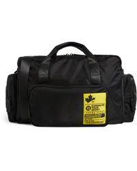DSquared² Logo Stamp Duffle Bag - Black