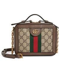 Gucci Ophidia Shoulder Bag - Natural