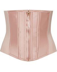 Spanx Under Sculpture Corset - Pink