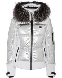Sportalm Metallic Hooded Down Jacket