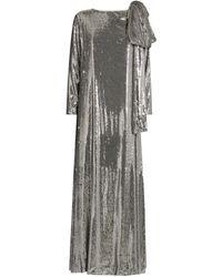 BERNADETTE Sequin-embellished Richard Gown - Metallic