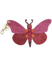Anya Hindmarch | Butterfly Keyring | Lyst