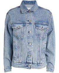 Rag & Bone Oversized Denim Jacket - Blue
