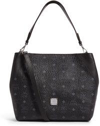 MCM Klara Visetos Hobo Bag - Black