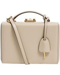 Mark Cross - Small Leather Grace Box Bag - Lyst