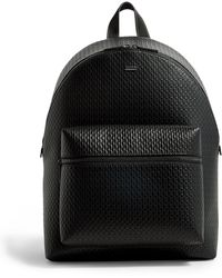 3d9bd042756 BOSS Rucksack In Soft Leather: 'melor' in Black for Men - Lyst