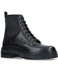 Gianvito Rossi Leather Martis Boots 20 - Black