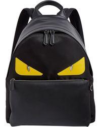 Fendi Bag Bugs Leather Backpack - Multicolor