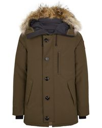 Canada Goose Chateau Parka Fusion Fit - Green