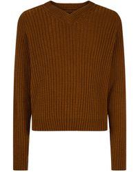 Our Legacy - Chenille Ribbed Jumper - Lyst