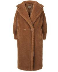 Max Mara Teddy Bear Icon Coat - Natural