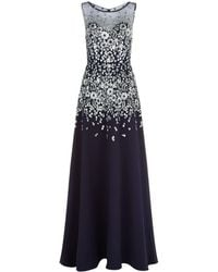Jovani - Embellished Cady Gown - Lyst