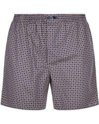 Zimmerli - Mosaic Boxer Shorts - Lyst
