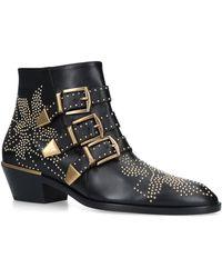 Chloé - Susanna Ankle Boots 30 - Lyst