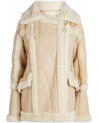 Nicole Benisti - Montmartre Shearling-lined Puffer Jacket - Lyst