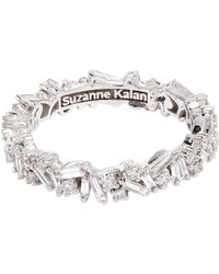 Suzanne Kalan - White Gold And Diamond Fireworks Bliss Ring - Lyst