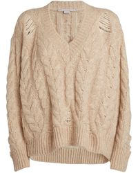 Stella McCartney Cable-knit Sweater - White