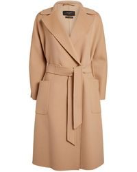 Weekend by Maxmara - Wool-blend Coat - Lyst