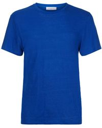 Sandro - Clash Linen T-shirt - Lyst