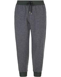 Kolor - Contrast Drawstring Trousers - Lyst